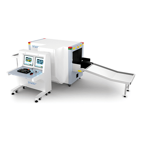 Small Parcel Screening Dual X-ray scanner